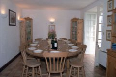 La Vallee: Kitchen/Dining