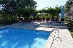 La Maison: Pool & terrace