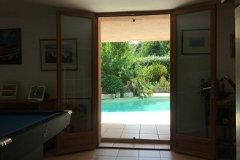 Study Pool Doors