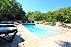 Woodland Retreat: The Heated Pool 2.