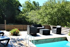 Woodland Retreat: The Heated Pool 4.