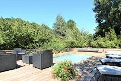 Woodland Retreat:  The Heated Pool 1.