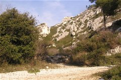 Trail from Gemenos up to la Sainte-Baume