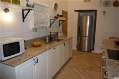 Kitchen with granite worktops