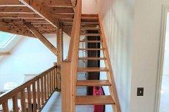 Converterd attic staircase