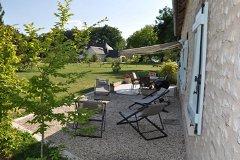 Villa Peuplier - terrace and garden