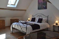 Villa Peuplier - the bedroom 2 upstairs
