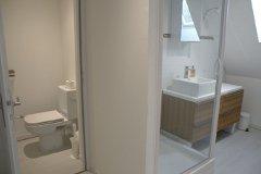 Villa Bouleau - shower room upstairs
