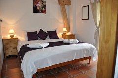 Villa Saule - the bedroom 2 upstairs