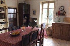 Big, double-aspect kitchen