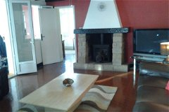 Towards Fire place in Sitting Room