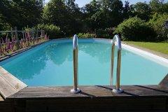 Swimming pool and views
