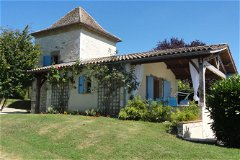 Pigeonnier Gite; One Bedroom with private pool