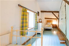 farmhouse 1st floor twin bed room