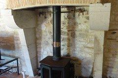 Farmhouse Lounge Woodburner