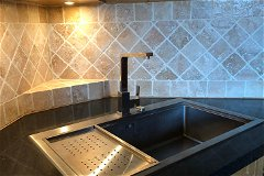 Kitchen - Deep Stainless Steel Sink