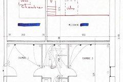 Floorplan gite first floor