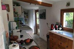 Kitchen and door to terrace