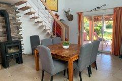 Dining area onto Terrace