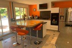 Open plan Kitchen onto Terrace