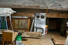 Garage loft space