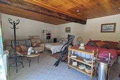 Gîte living / bedroom