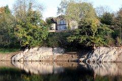 House & lake