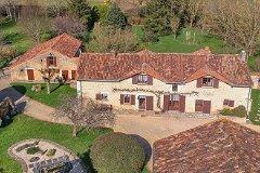 House, gite and barn