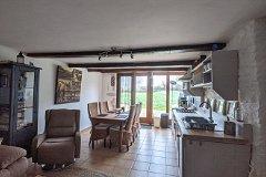 Gîte (G) Kitchen/Dining/Living-room