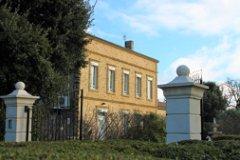 southern facade