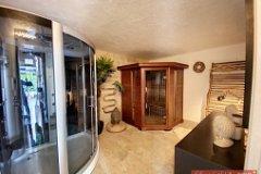 Gite sauna room