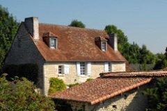 House from hillside