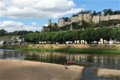 Chinon on the Vienne river