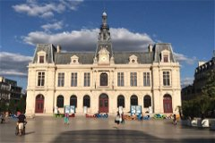 The historic town of Poitiers