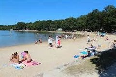 Coco Plage Sille Le Guillaume Beach and Lake