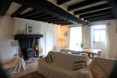 Large beamed lounge