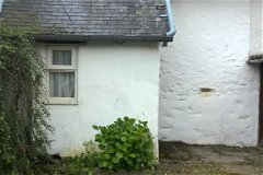 Back of the cottage