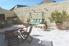 Sun terrace with bbq for alfresco dining or relaxing with a glass (or 2) of local wine