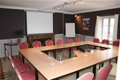 A small meeting room in the manor