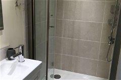 Studio apartment shower room