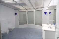 large bathroom, there is also a second bathroom and separate toilet