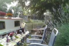Dine at the mooring