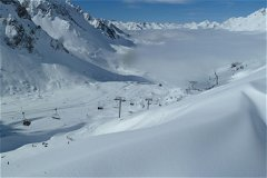 Skiing in the Grand Tourmalet resort