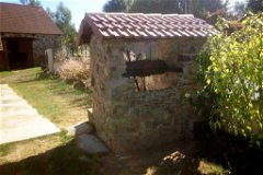 Water well in local stone w/new roof