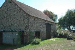 Large stone barn