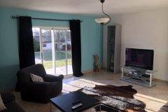 TV room with garden access