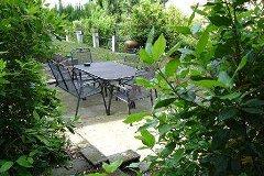 Secluded garden, lower terrace