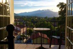 View from Villa Maureillas