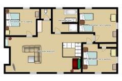 Farmhouse 1st floor