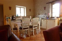 Gite Cottage Kitchen
